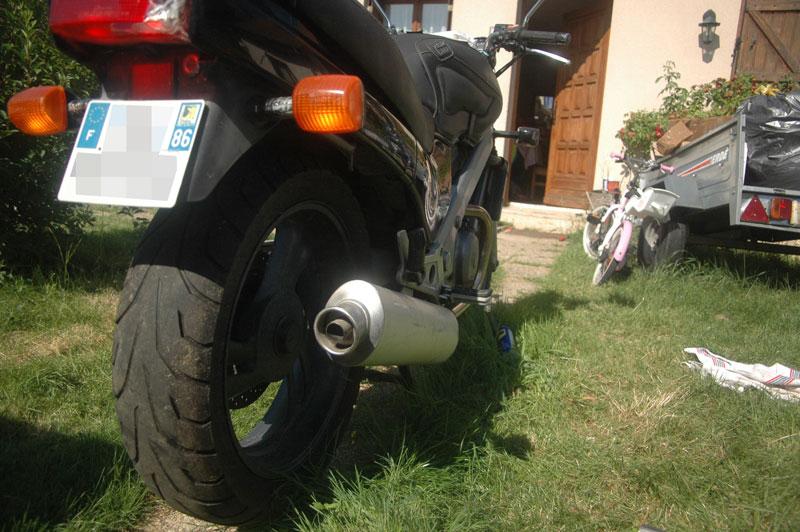 NTV - Adaptation Echappement Ducati/Austin ... Pot-test-03