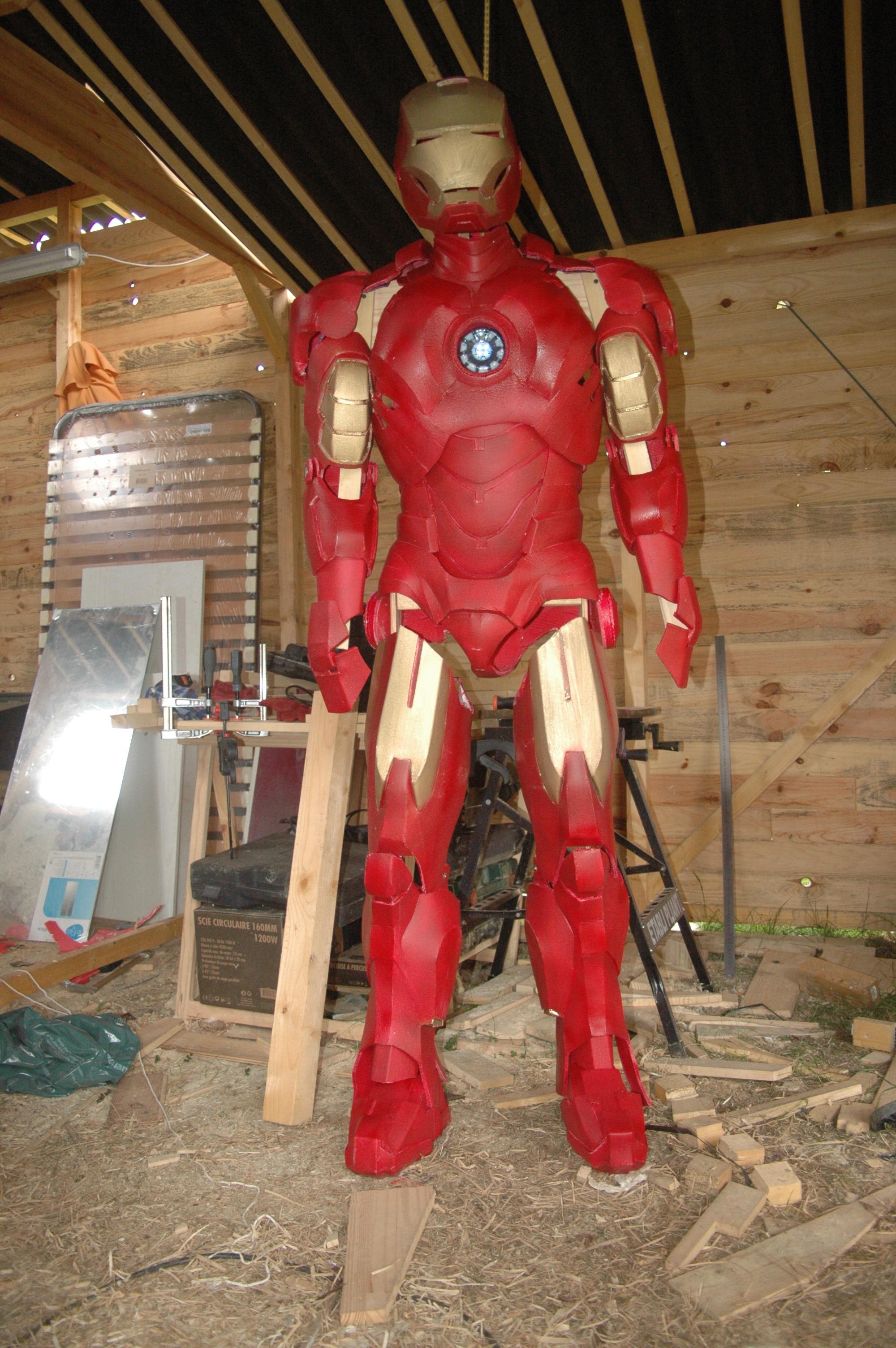 Custom Iron Man 2 Nike Air Delta Force AC Shoes by MP ...  |Iron Man Nike Foams