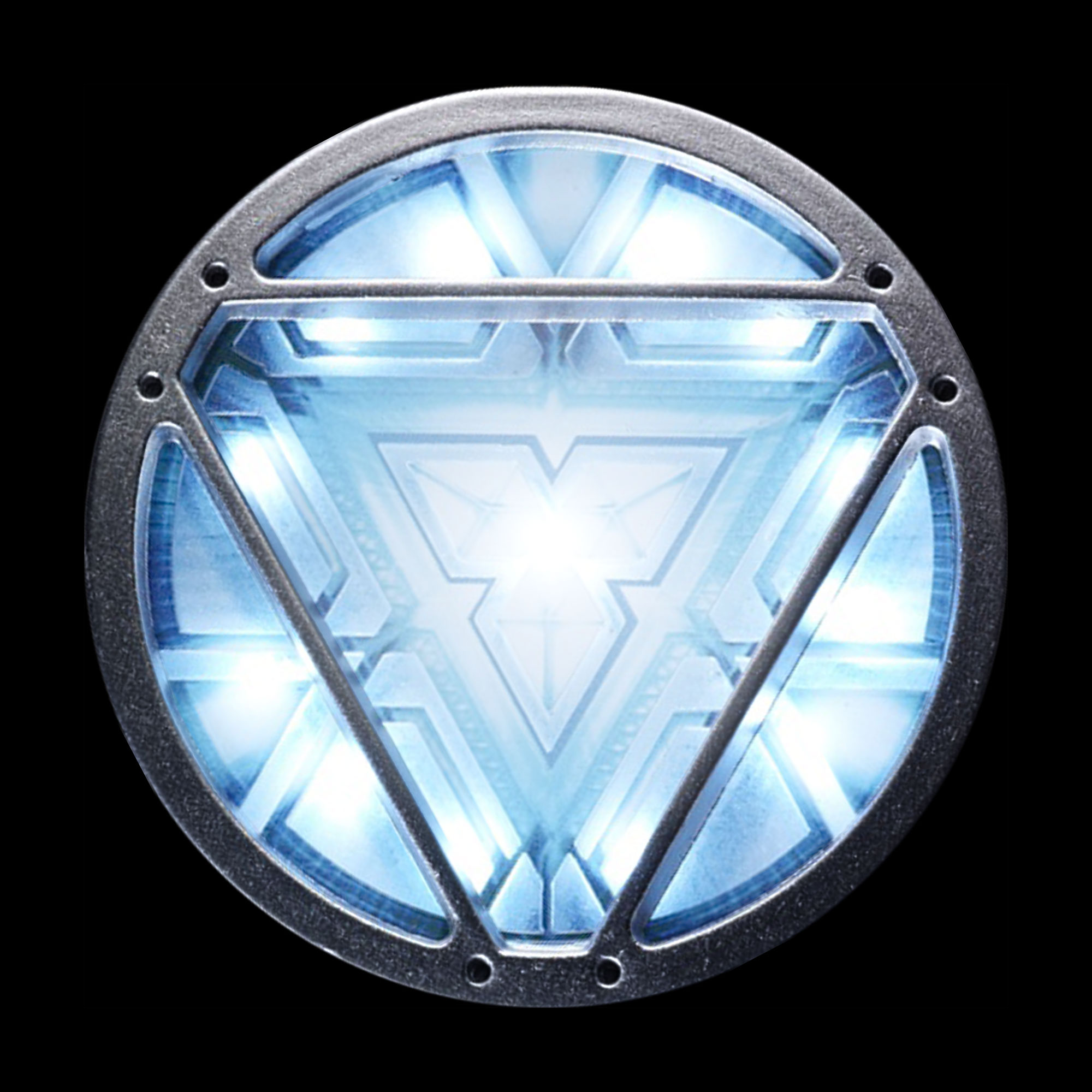 Iron Man Mark VI custom arc reactor symbol