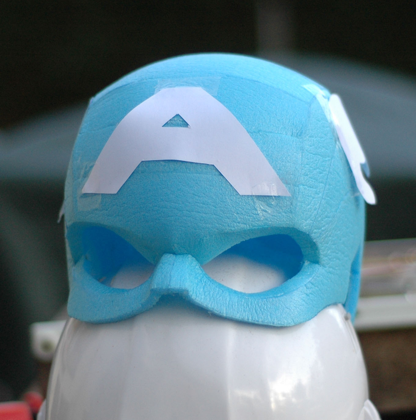 Captain americas helmet speed peping foam file pronofoot35fo Image collections