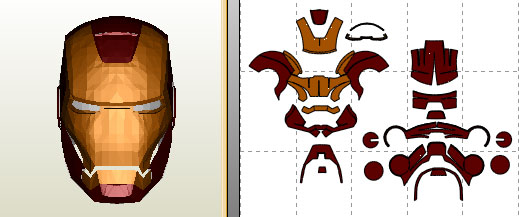 Jfcustom 39 s foam files page 30 for Iron man foam armor templates